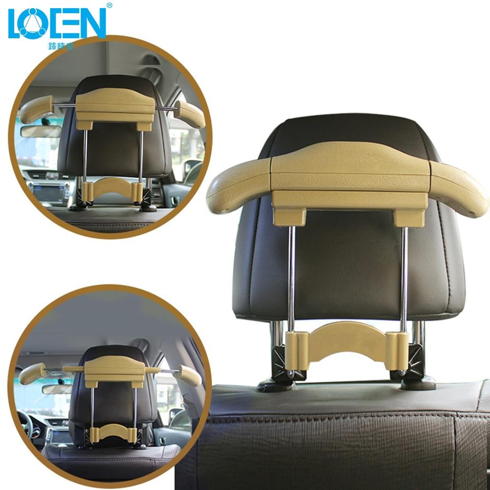 Radient Loen Hot Auto Car Venicle Seat Bag Hook Headrest Accessories Hanger Holder Organizer Coat Hanger Clothes Jackets Suits Holder Removing Obstruction