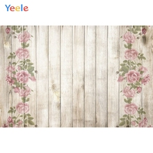 Yeele Wood Board Flowers Photography Backdrops Photographic Backgrounds Planks Texture Floral Pattern For The Photos Studios