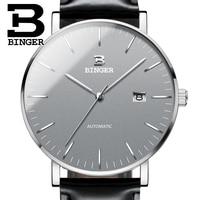 Switzerland BINGER Mens Watches Luxury Brand Automatic Mechanical Men Watch Sapphire Male Japan Movement Reloj Hombre
