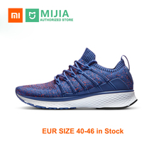 Original Xiaomi Mijia Shoes Sneaker 2 Sports 40-46 In-stock Running breathable Fishbone Lock System Elastic Knitting Vamp недорго, оригинальная цена