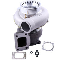 GT3582 Universal Turbo Turbocharger T3 Flange 4 Bolts .7A/R .63 A/R 400 600HP Anti Surge Compressor Turbocharger Bearing