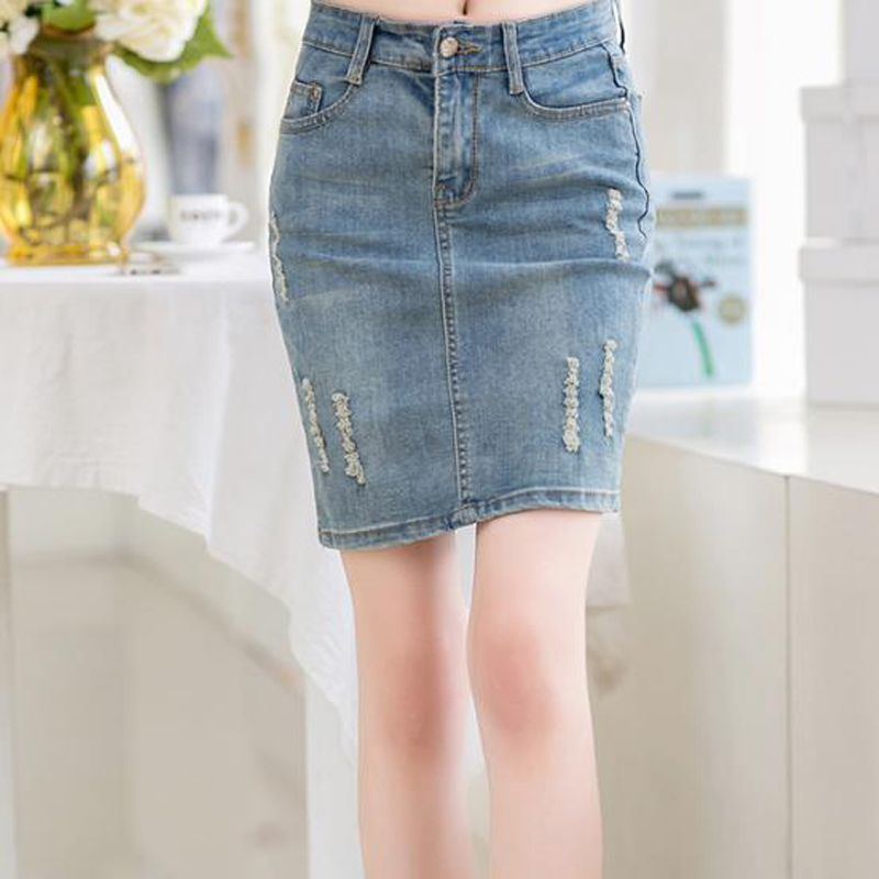 Popular Jeans Mini Skirts-Buy Cheap Jeans Mini Skirts lots from ...