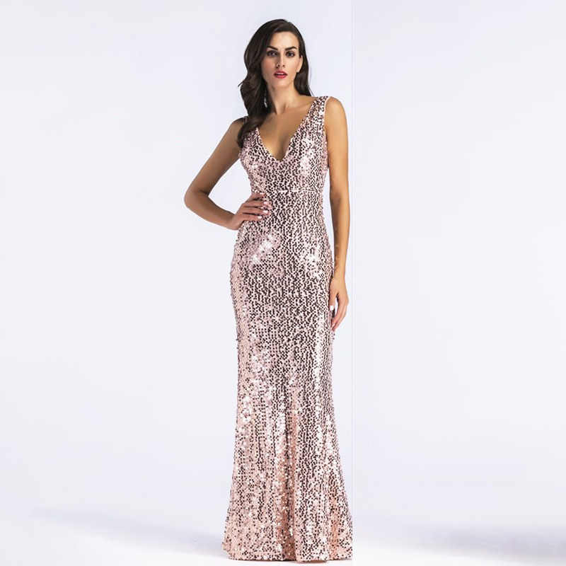 Detail Feedback Questions about D028 rose gold sequined half sleeves ... cb2da66dff79