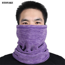 ICESNAKE Motorcycle Face Mask Winter Windproof Moto Balaclava Neckerchief Autumn Cycling Skiing