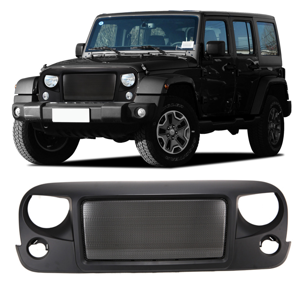 Iztoss Front Matte Eagle Eye Grille Grid Grill For Jeep Wrangler Tj Rubicon Fuse Box Sahara Sport Jk 2007 2016 In Racing Grills From Automobiles Motorcycles On
