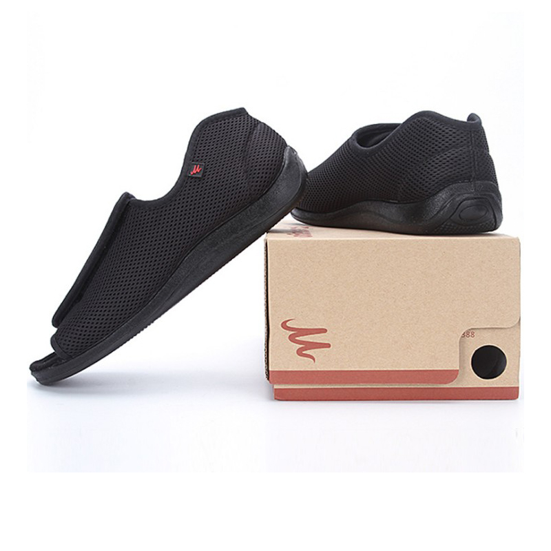 Diabetic shoes foot wide old man s foot deformation middle aged shoes foot puffy external deformation