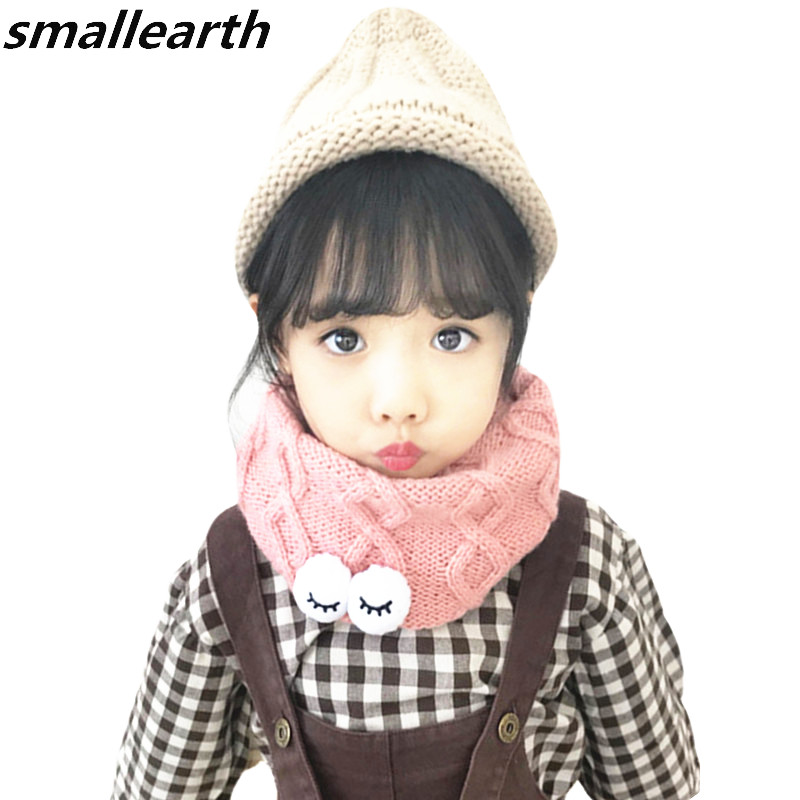 Apparel Accessories Girl's Scarves 1pc Baby Cotton Scarf Fashion Autumn Winter Cute Baby Warm Boys Girls Children Stars Collar Scarf Children Neck Scarves Beautiful And Charming