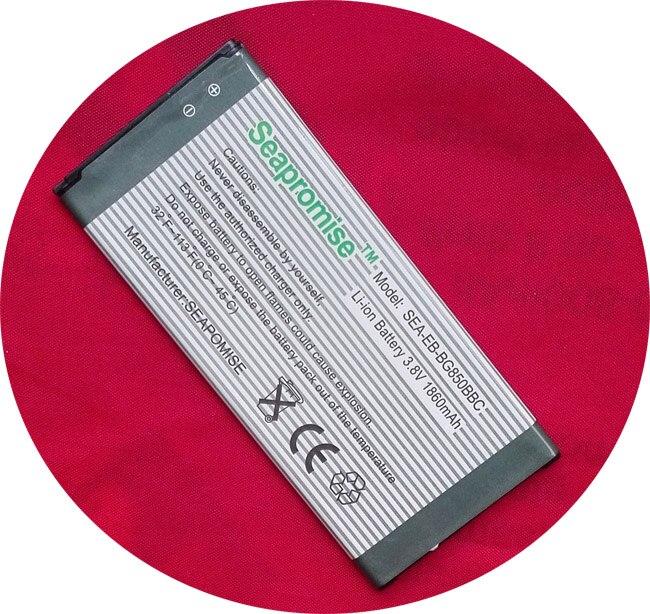 Freeshipping au détail batterie EB BG850BBC (EB BG850BBE) pour Galaxy Alpha SM-G850, SM-G850F, SM-G850T, SM-S801, SM-G8508, SM-G8508S