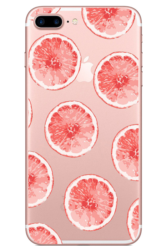 Painting Soft TPU Phone Cover for iPhone 7 Case Luxury Fruit Protective Shell for iPhone 7 6 6S 8 Plus 5 5S SE X XR XS MAX in Fitted Cases from Cellphones Telecommunications
