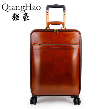 Leather Retro Rolling Cabin Case 3
