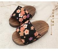 2017 새로운 일본어 Geta 신발 플립 단독 마사