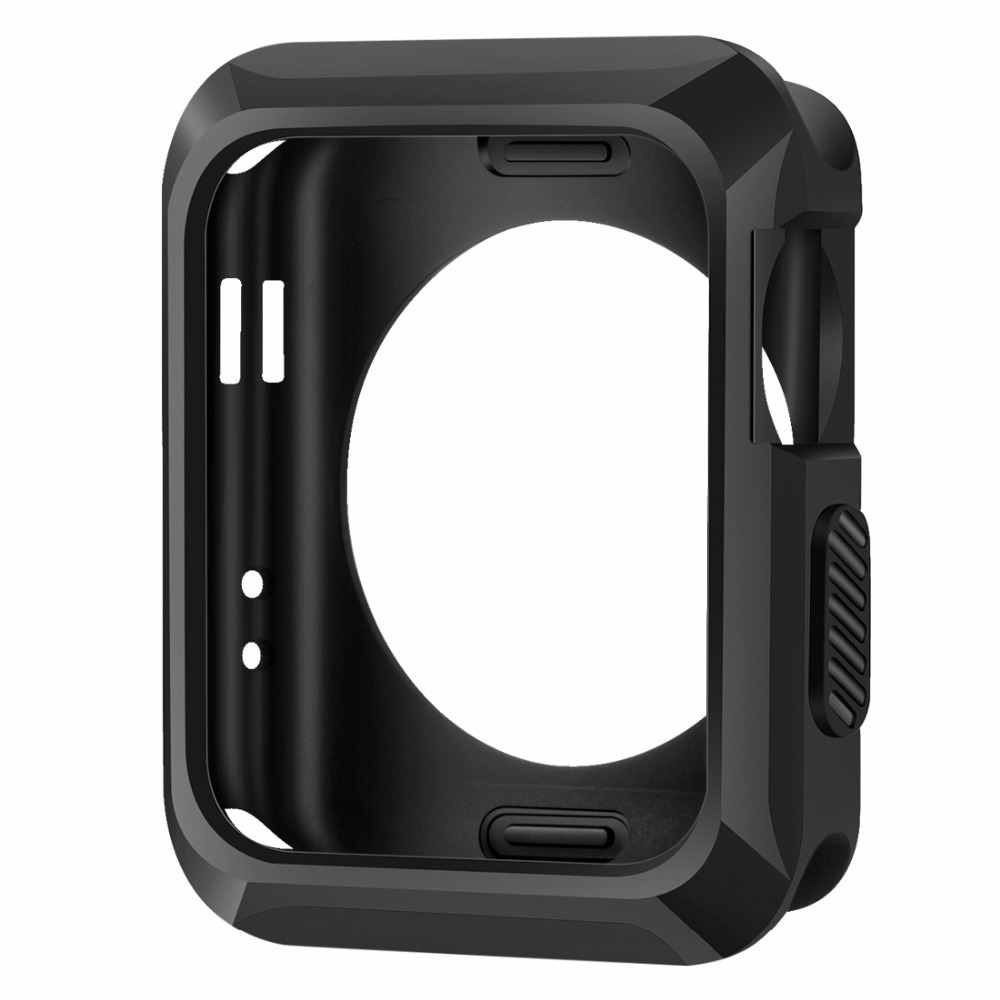 Universal Slim Rugged Protective TPU Case for Apple Watch