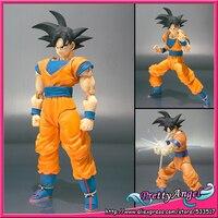 PrettyAngel оригинальный бандай Tamashii NACES S. H. Figuarts Dragon Ball Z Figuarts Goku фигурка