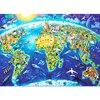 Wooden Kids Cartoon Jigsaw Puzzle 1000 Pieces Adult Montessori Educational Toys Juguetes Educativos Puzzles For Children