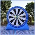 Azul bomba de Pé Inflável Dardos para Venda, Futebol Velcro Dardos, Jogo de Dardos inflável, com Tudo Incluído, de Boa Qualidade, Entrega rápida