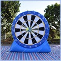 Blue Inflatable Foot Darts for Sale, Velcro Soccer Darts, Inflatable Dart Game,All Included,Good Quality ,Fast Delivery