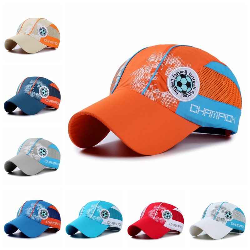 Handsome Boys Baseball Cap Toddler Children Letter Tennis Hat Casual Hip Hop Sun Snapback caps 5-14 years