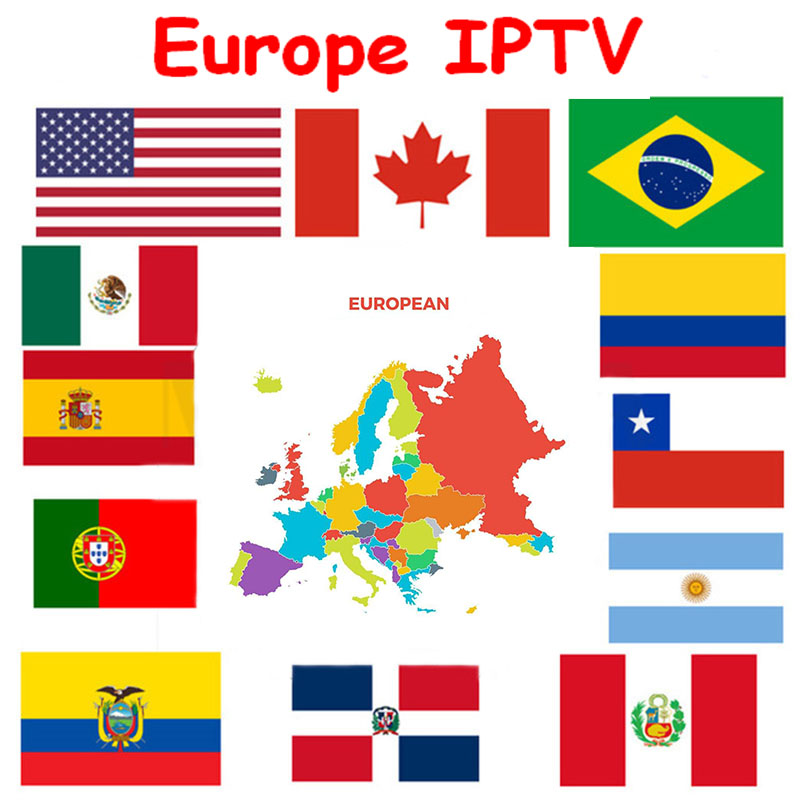 1 Full Year IPTV Europe IPTV French Portugal Spain Belgium Netherland Android M3u Enigma2 Mag250  4000+Vod For Android Tv Box