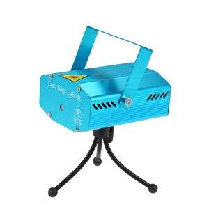 Image 2 - Mini LEDเลเซอร์โปรเจคเตอร์คริสต์มาสตกแต่งไฟเลเซอร์ดิสโก้เลเซอร์แสงDjเสียงเปิดใช้งานDJ Disco Xmas Party Club light