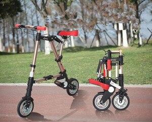 Складной велосипед, 8 дюймов, мини-велосипед, для езды на велосипеде