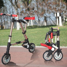 A-BIKE 8inch Folding Bike mini folding bicycle
