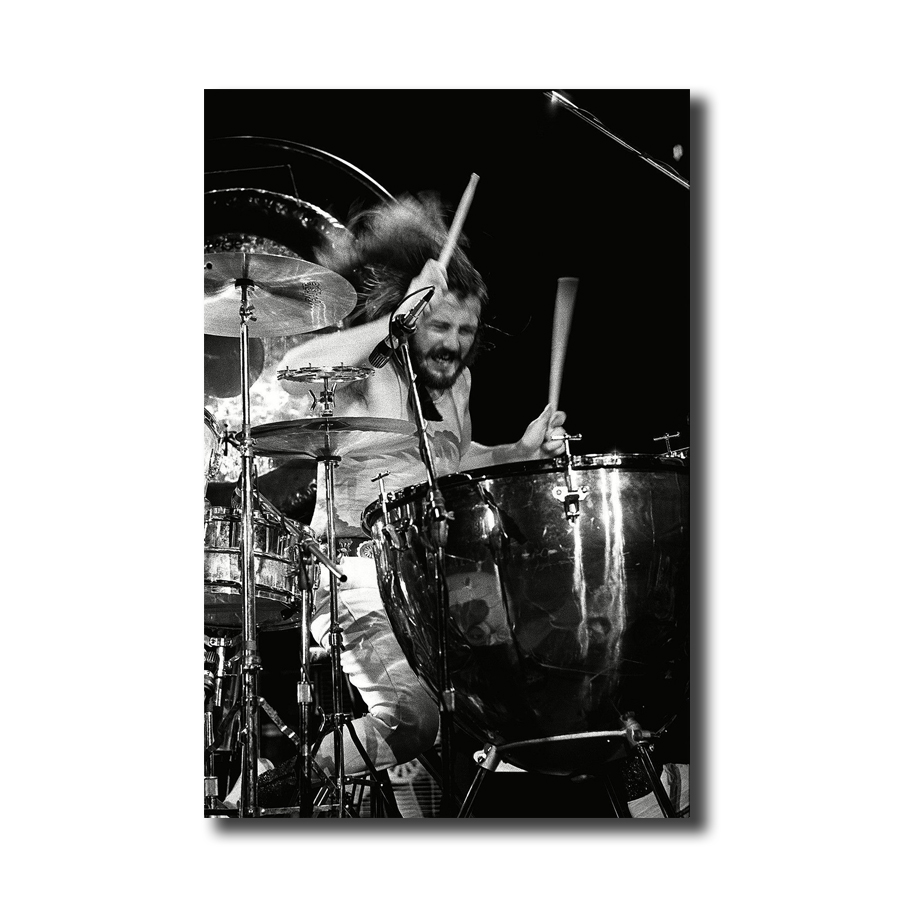 Art print poster//Canvas Led Zeppelin John Bonham