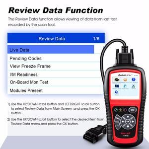 Image 2 - Autel ماسح ضوئي للسيارة ، أداة تشخيص تلقائية AL519 ، قارئ رمز OBD2 ، أصلي 100%