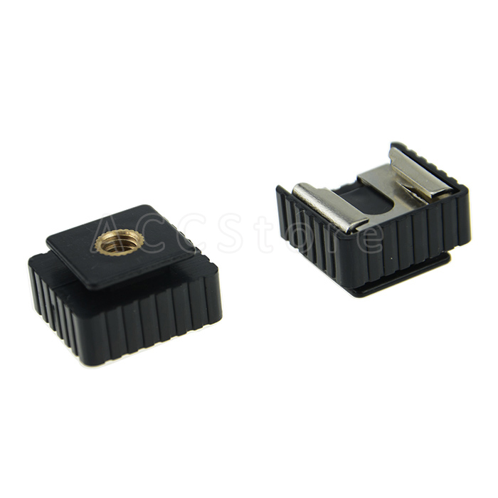 """4 Pack Ex-Pro Dual Nuts Hot Shoe 1//4/"""" Screw Adapter for GPS /& Digital Camera"""