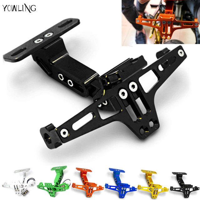 Motorcycle License Plate Bracket Licence Plate Holder Frame Number Plate For ducati monster 696 1199 1198  sc 1 st  AliExpress.com & Motorcycle License Plate Bracket Licence Plate Holder Frame Number ...