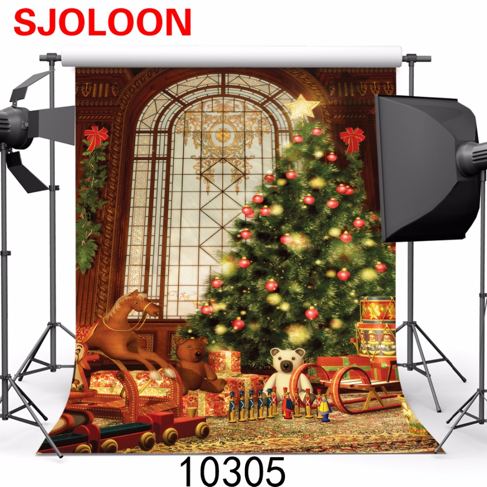 SJOLOON christmas photography backdrops  photo backdrops christmas photography christmas photo studio background vinyl	300X300cm sjoloon brick wall photo background photography backdrops fond children photo vinyl achtergronden voor photo studio props 8x8ft