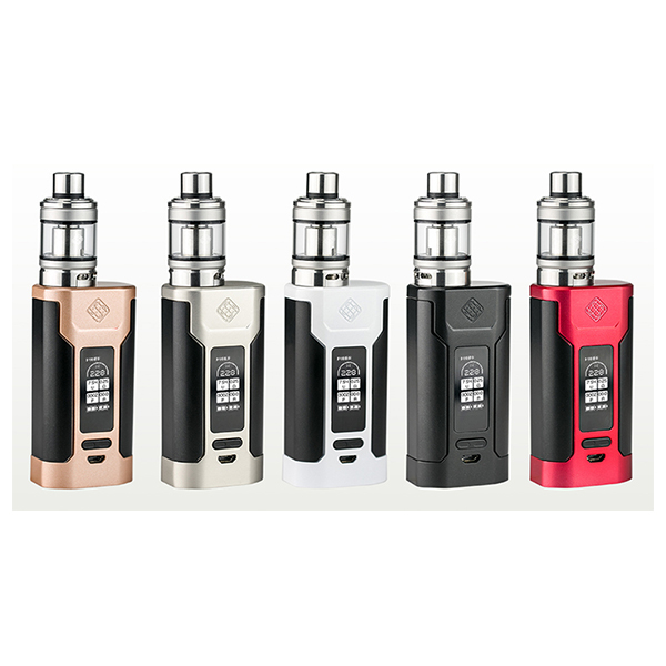 original Wismec Predator 228w kit ecig electronic cigarette Kit with predator box mod and NS triple elabo tank vape 30pcs ecig ce4 battey n vape e cases