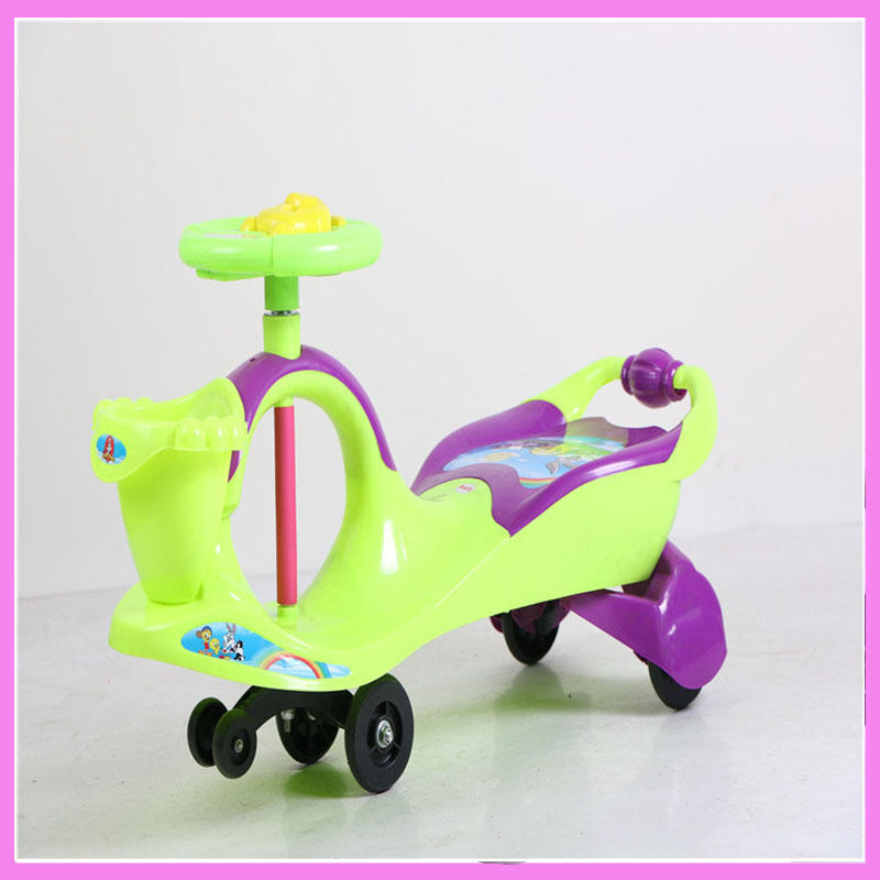 4 Colors Baby Stroller Children Car Walkers with Wheels Children Trolley Slippery Car Skateboard Baby Walker Scooter new the european ce standards pp plastic baby walkers scooters musical scooter for children 2 years of age or older