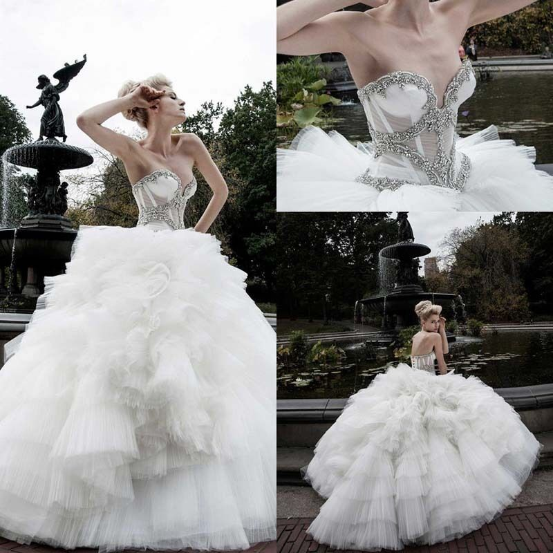 Pnina Wedding Dresses Lace Ball Gown – Dresses for Woman