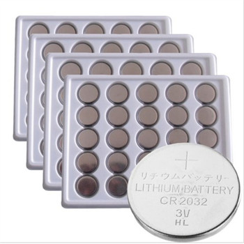 Free shipping 100PCS 3V CR2032 Lithium Battery BR2032 DL2032 ECR2032 CR 2032 Button Coin Cell Batteries 100pcs lot brand new version saft ls14500 aa 3 6v lithium battery batteries made in france ems dhl free shipping