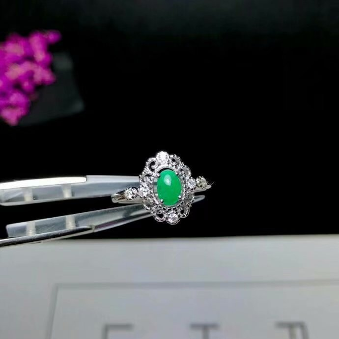 shilovem 925 sterling silver Plain surface Natural Emerald Rings fine Jewelry women trendy wedding open wholesale yhj040603agmshilovem 925 sterling silver Plain surface Natural Emerald Rings fine Jewelry women trendy wedding open wholesale yhj040603agm