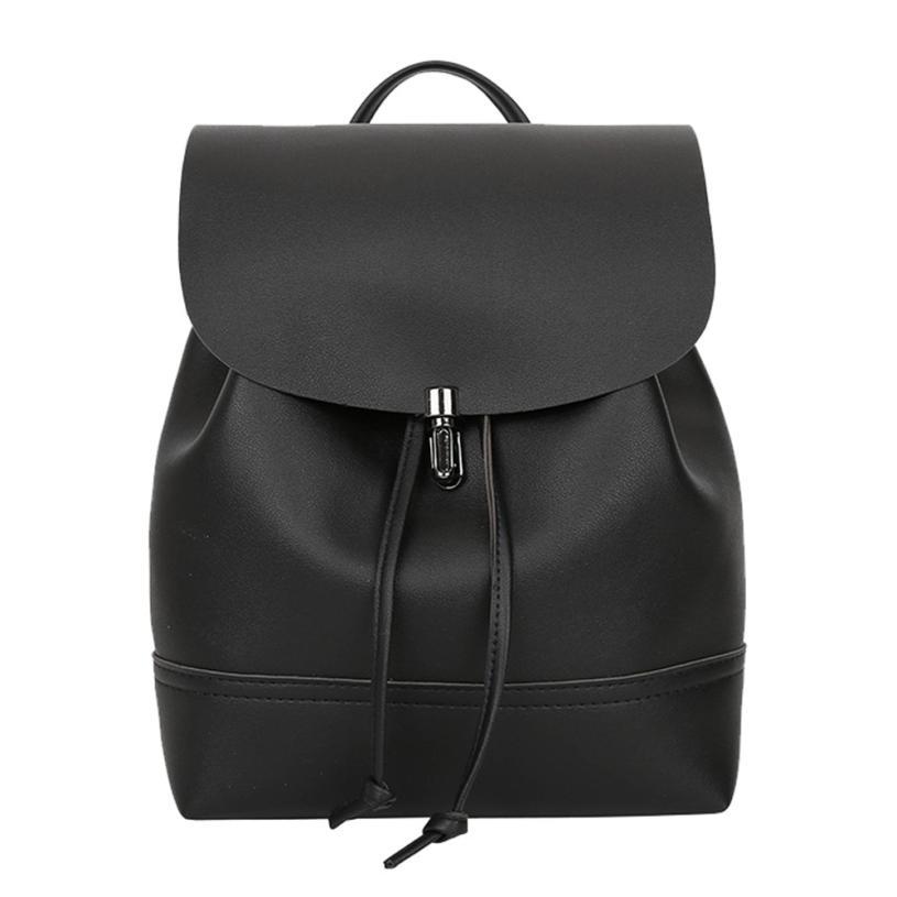 Fashion Women Backpack High Quality Youth Leather Backpacks For Teenage Girls Female School Shoulder Bag Bagpack Mochila #YL