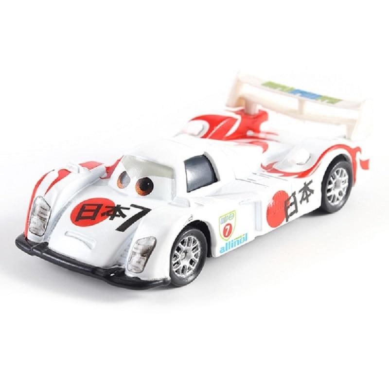 Disney Pixar машина 3 Молния Маккуин гоночный семейный 39 Джексон шторм Рамирез 1:55 литой металлический сплав детская Игрушечная машина - Цвет: 39