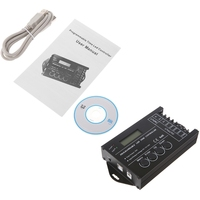 YAM 5 Channels DC 12 24V 20A Programmable TC420 RGB LED Time Dimmer Controller CD
