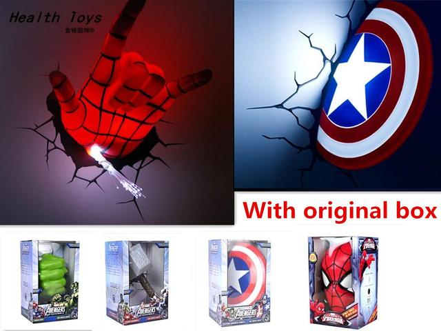 2016 new creative marvel avengers america captain shieldspider man 2016 new creative marvel avengers america captain shieldspider manhulkthor hammer mozeypictures