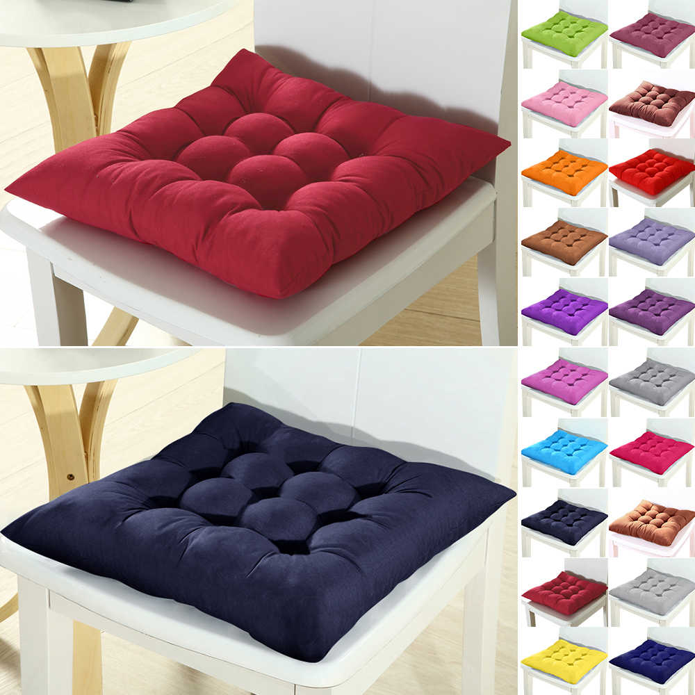 Urijk 1 2 4pcs Chair Seat Back Cushion