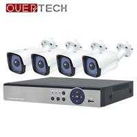 OUERTECH 720P/960P/1080P P2P Home Security POE NVR Kit Wifi CCTV System Indoor Outdoor IP Camera Surveillance Set Motion Detect