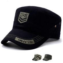 53226e1420e US Army Military Hat Flat Caps Tactical Men Camouflage Gorras Snapback Caps  Hunter Fisher Man Sun Visor Caps Real CS Cool Hat