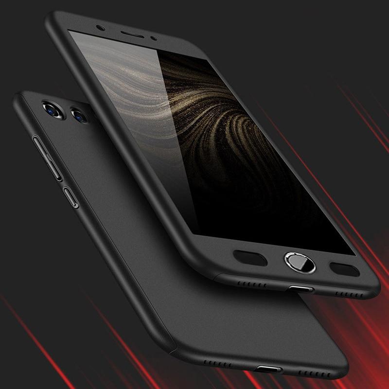 Per ZTE Nubia Caso Z17 360 Gradi Protetto Full Body Cassa del telefono per Nubia Z17 mini Z17mini Caso Della Copertura Antiurto + Vetro pellicola