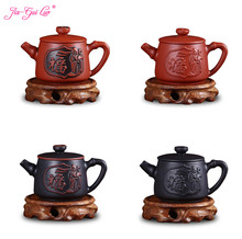 JIA-GUI LUO  120ML Purple Clay  Yixing Teapot  Traditional Chinese Tea Set  Oolong Tea Portable Travel Tea Set H018 high quality chinese tieguanyin tea fresh natural carbon specaily tikuanyin oolong tea high cost effective tea 125g