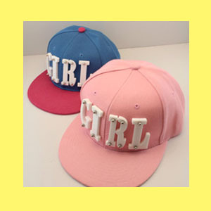 Hat female acrylic girl letter hiphop cap candy color hip-hop cap baseball cap male