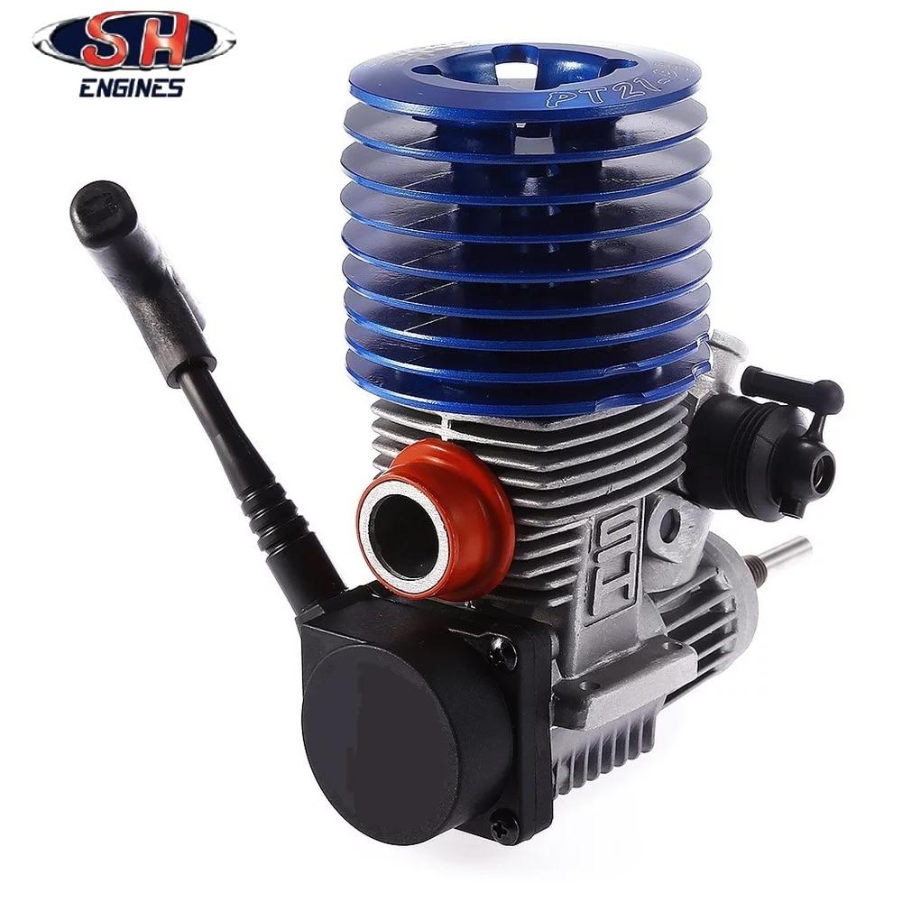 1 قطعة 83012 SH21 SH 21 1/8 نيترو سباق محرك موتور SH21 المحرك 3.48 cc m21 p3 HSP 1/8 الميثانول  سوبر الطاقة-في قطع غيار وملحقات من الألعاب والهوايات على  مجموعة 2