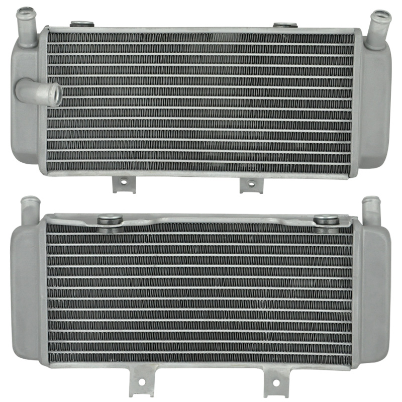 Left For HONDA CRF450X CRF 450 X 450X 2005 2008 Motorcycle Engines Cooling accessories Motorbike Aluminium