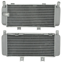 For HONDA CRF450R 2005 2006 2007 2008 Motorcycle Engines Cooling Oil Radiator Motorbike Aluminium