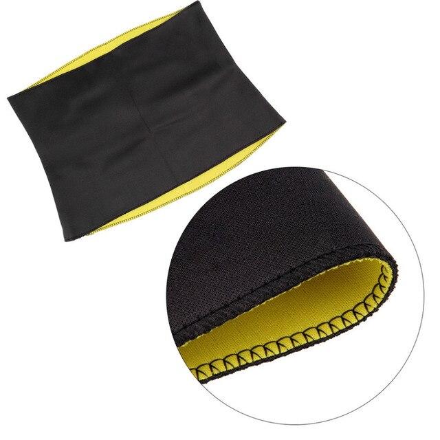 Women Neoprene Slimming Waist Belts Slim Belt Weight Loss Slimming Trainer Light Weight Portable Easy To Carry Body Face Lift 5