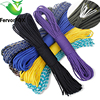 150 Colors Paracord 550 Paracord Parachute Cord Lanyard Rope Mil Spec Type III 7Strand 100M Climbing